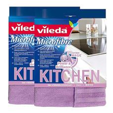 วิเลดา ผ้าไมโครไฟเบอร์สำหรับห้องครัว (แพ็ก 2)