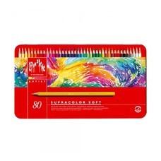Caran D'Ache ดินสอสีระบายน้ำ Supracolor 80 สี
