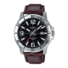 Casio นาฬิกาข้อมือ รุ่น MTP-VD01L-1BVUDF Brown
