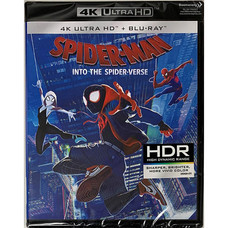 Blu-ray (4K) สไปเดอร์-แมน: ผงาดสู่จักรวาล-แมงมุม [4K Ultra HD+Blu-ray]