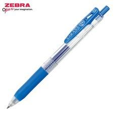 Zebra ปากกาหมึกเจล Sarasa Clip 0.5 มม. JJ15-PB หมึกสีน้ำเงินอ่อน (12 ด้าม/กล่อง)
