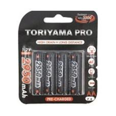 Toriyama ถ่านชาร์จ รุ่น AA2950 Pro แพ็ก 4