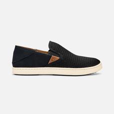 Olukai รองเท้าผู้หญิง 20271-4040 W-PEHUEA BLACK/BLACK 8 US
