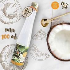 Coco-Hut น้ามันมะพร้าวสกัดเย็น 100% ขนาด 100 มล.