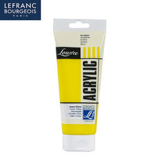 Lefranc&Bourgeois สีอะคริลิค Louvre 200 มล. LEMON YELLOW