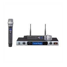 YUGO ไมโครโฟนไร้สายแบบถือ รุ่น UHF T2 Black