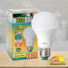 Bio Bulb หลอด LED หรี่ไฟ 13 วัตต์ แสงวอร์มไวท์