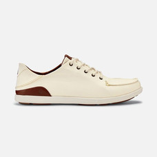 Olukai รองเท้าผู้ชาย 10331-1833 M-MANOAOFF WHITE/TOFFEE 7 US