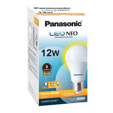 Panasonic หลอด LED NEO 8000 hr WW E27 PAN 12 W