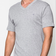 GUY LAROCHE เสื้อยืด COTTON 100% JVV2423 สีเทา