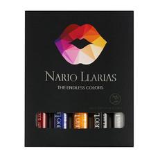 Nario Llarias ลิควิดลิปเนื้อแมท 3 ก. 5 ชิ้น