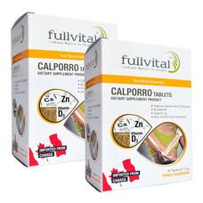 Fullvital Calporo ฟูลไวทอล แคลโพโร่ จำนวน 2 กล่อง (30 เม็ด/กล่อง)