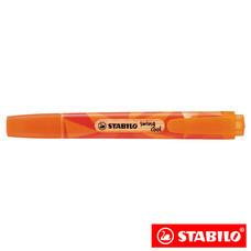 STABILO Swing Cool Colormatrix ปากกาเน้นข้อความ สีนีออน Orange