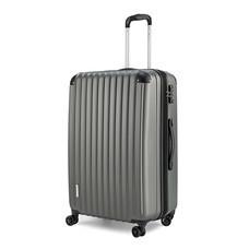 POLO TRAVEL CLUB กระเป๋าเดินทาง HKEXD 8009 ไซส์ 28 สีเทา