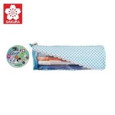 Sakura เซ็ทปากกาเจลลี่โรล รุ่นเกรซ Gelly Roll Glaze 12 สี พร้อมกระเป๋า