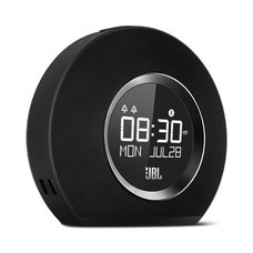 JBL Speaker Horizon Bluetooth Clock Black