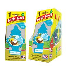 Little Tree แผ่นน้ำหอม แบบแพ็ก (12 ชิ้น/1 แพ็ก)
