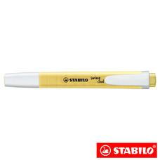 STABILO Swing Cool Pastel ปากกาเน้นข้อความ สีพาสเทล Milky Yellow