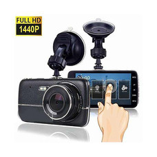 Cam4u กล้องติดรถหน้า-หลัง รุ่น V-402 Black