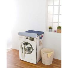 Shopsmart ผ้าคลุมเครื่องซักผ้า 2-in-1 ลายยีนส์มินิดอท