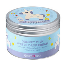 SeaNtree Donkey Milk Water Drop Cream-4 200 ก.