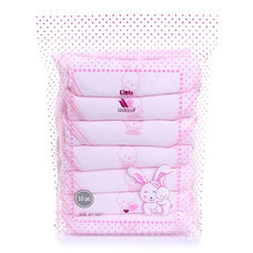 Little Wacoal nappy 10 ชิ้น pink colour ไซส์ 27 x 27 นิ้ว