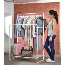 Shopsmart ราวแขวนพร้อมชั้นวางอเนกประสงค์ รุ่น Koya
