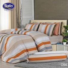 Satin ผ้านวม + ผ้าปูที่นอน ลาย D94 3.5 ฟุต
