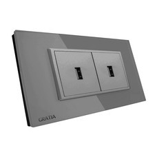 Gratia USB Port GSUS02GL #Grey