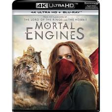 Blu-ray (4K) Mortal Engines สมรภูมิล่าเมือง จักรกลมรณะ [4K Ultra HD+Blu-ray]