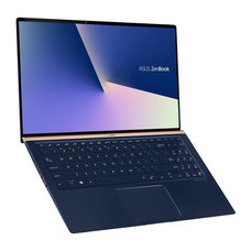 Asus Notebook ZenBook 15 UX533FN-A9076T i7-8565U 1.8GH 8G SSD512 V2G W10 SI Icicle Silver Metal (Glass)