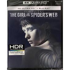 Blu-ray (4K) The Girl In The Spiders Web พยัคฆ์สาวล่ารหัสใยมรณะ [4K Ultra HD+Blu-ray]