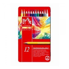 Caran D'Ache ดินสอสีระบายน้ำ Supracolor 12 สี