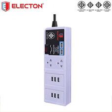 ELECTON สายพ่วงปลั๊ก USB WORK STATION 8 USB 2 ช่อง 3 เมตร รุ่น EP-US8203
