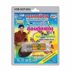 USB MP3 ตำราคู่มือ สอนดีดพิณ ชุดที่ 1