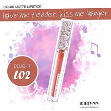 Melynn Love Me Tender, Kiss Me Longer Liquid Matte Lipstick L02 Delight