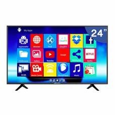 Worldtech Analog LED TV HD Ready ขนาด 24 นิ้ว พร้อม Android TV Box รุ่น WTTVAL24HDR2200ADA
