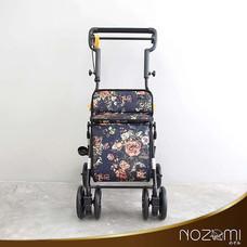 NOZOMI รถเข็นช่วยพยุงเดิน รุ่น YX-600 ลายดอกไม้