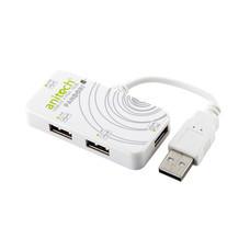 Anitech 4Ports USB Hub B299 White