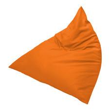 Your Style BeanBag สามเหลี่ยมผ้ากำมะหยี่ ส้ม