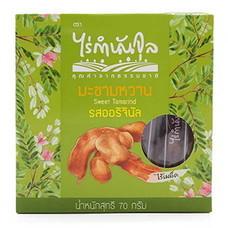 ไร่กำนันจุล มะขามอบไร้เมล็ด ออริจินัล 70 ก. (แพ็ค 2)