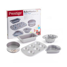 Prestige ชุดพิมพ์อบขนมขนาดเล็กกะทัดรัด 5 ชิ้น