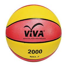 VIVA บาสเกตบอลหนังอัดแข่งขัน รุ่น 2000 NO.7 สีชมพู-เหลือง