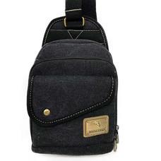 Dolphin bag กระเป๋าคาดอก B814สีดำ
