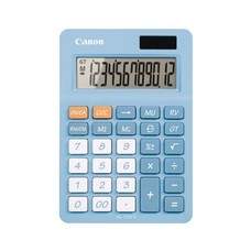 Canon Desktop Calculator รุ่น AS-120V II Sky Blue