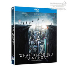 Blu ray What Happened to Monday 7 เป็น 7 ตาย