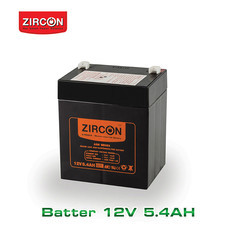 Zircon Battery 12V-5.4Ah