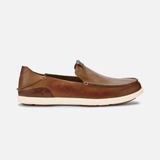 Olukai รองเท้าผู้ชาย 10379-FX19 M-NALUKAI SLIP-ON FOX/BONE 7 US