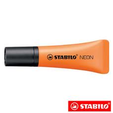 STABILO Neon ปากกาเน้นข้อความ ด้ามนิ่ม Orange