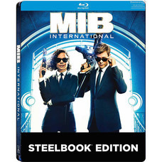 Blu-ray Men in Black International (Blu-ray+Bonus Disc+Steelbook)